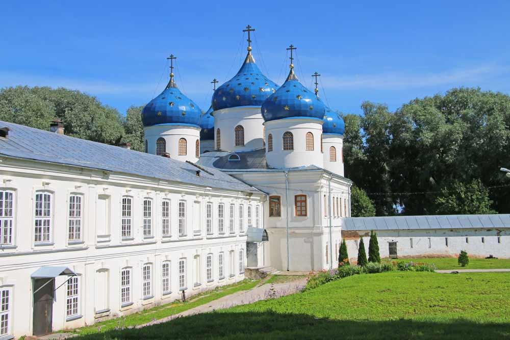 St.George Monastery in Veliky Novgorod on a day trip from St.Petersburg