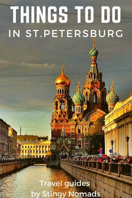 Things to do in St.Petersburg, Russia pin