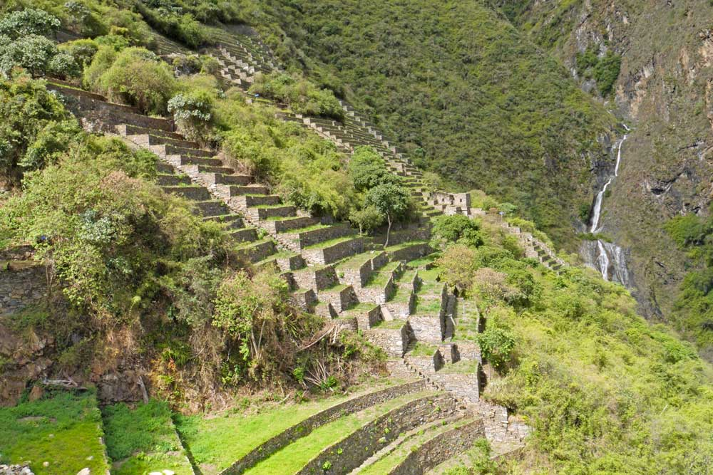 Lower Choquequirao ruins, Peru