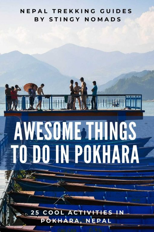Best things to do in Pokhara pin