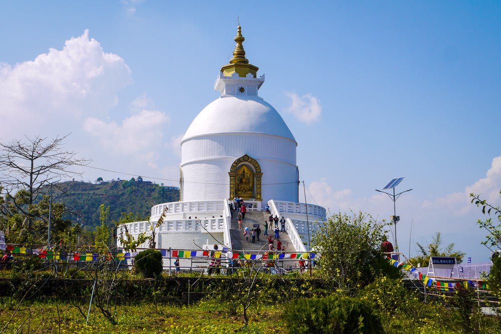 World Peace pagoda_Pokhara