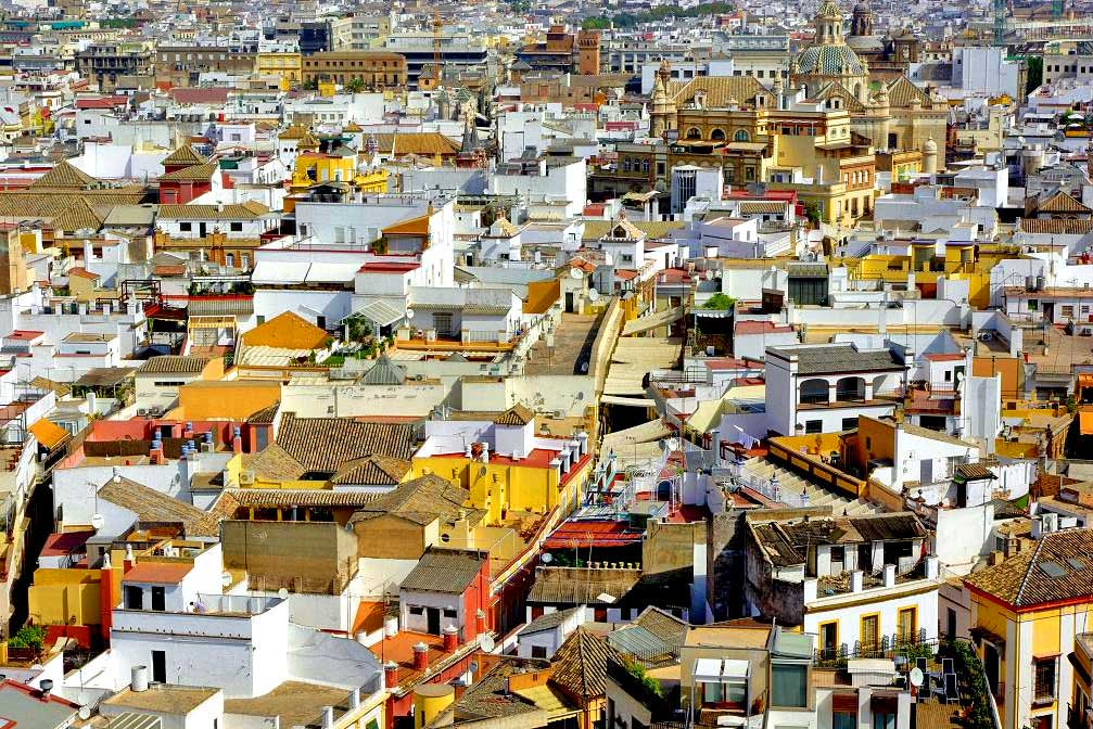 Santa Cruz neighborhood, Seville, Spain