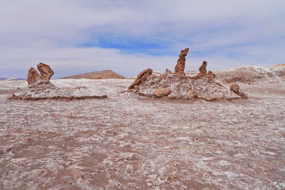 Tres Marias rock formation in Atacama