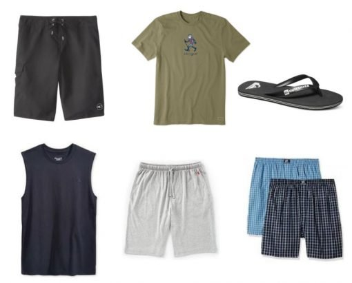Men's extra clothes and underwear to pack for the Camino de Santiago