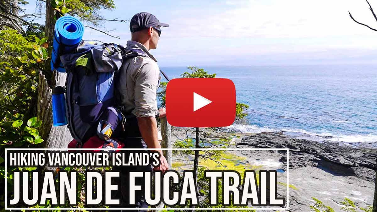 Juan de Fuca Trail video