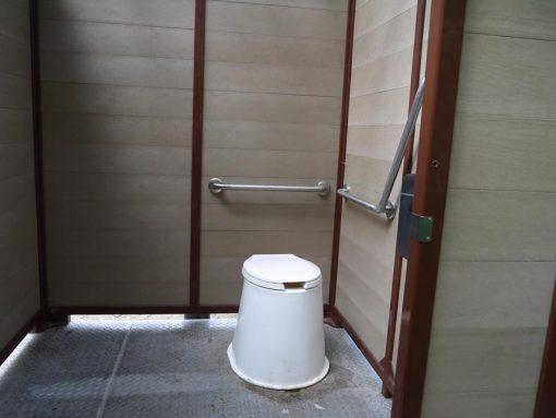 toilets on Juan de Fuca trail