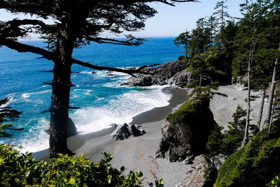 west coast trail vancouver island canada
