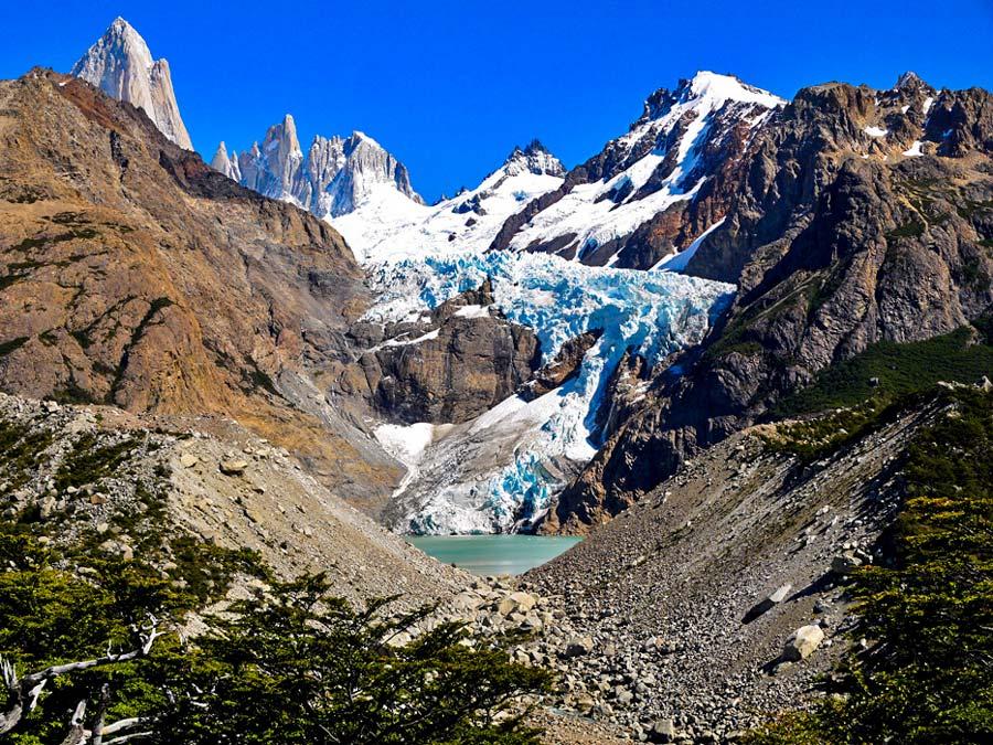 Glacier Piedras Blancas, El Chalten