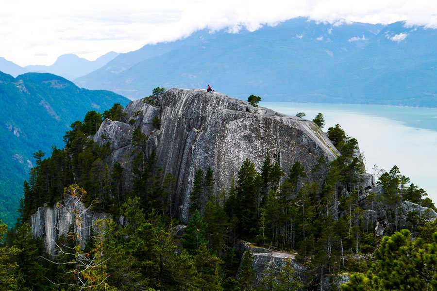 View from the top of the Stawamus Chief.