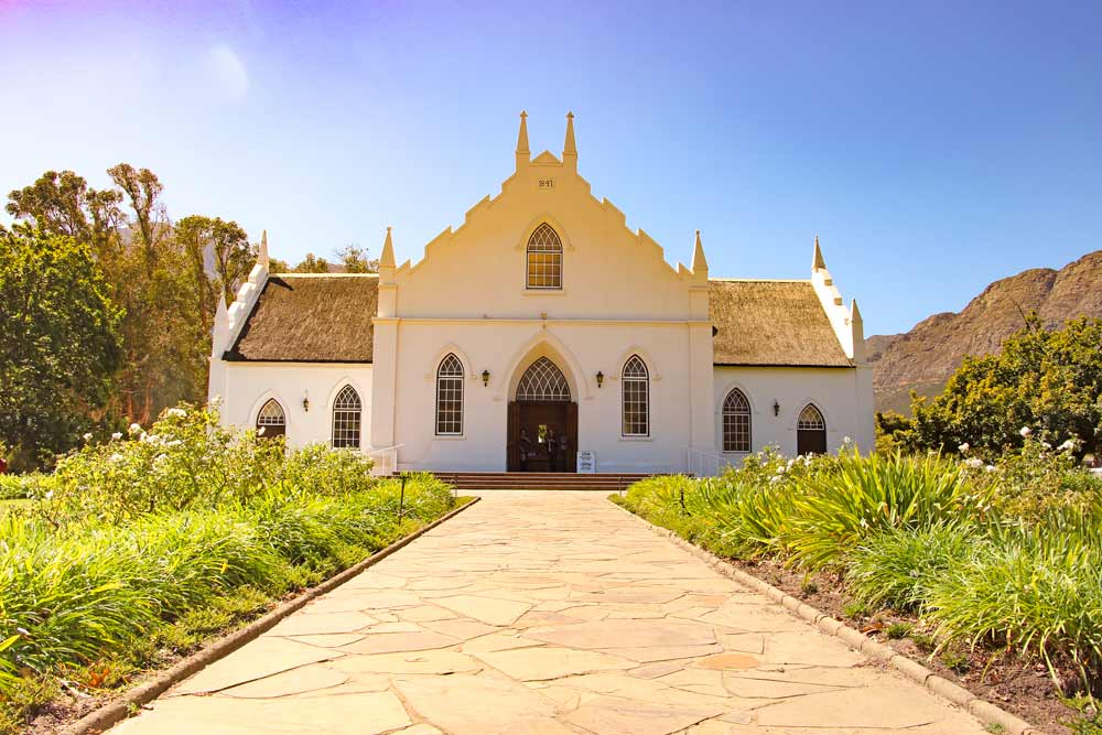The Dutch Reformed Church, Franschhoek