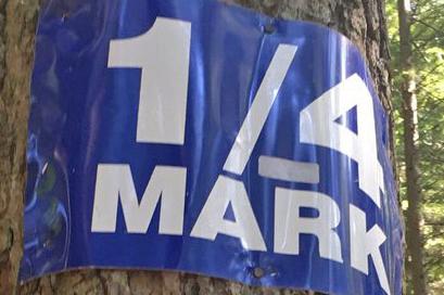 sign grouse grind 1/4 mark