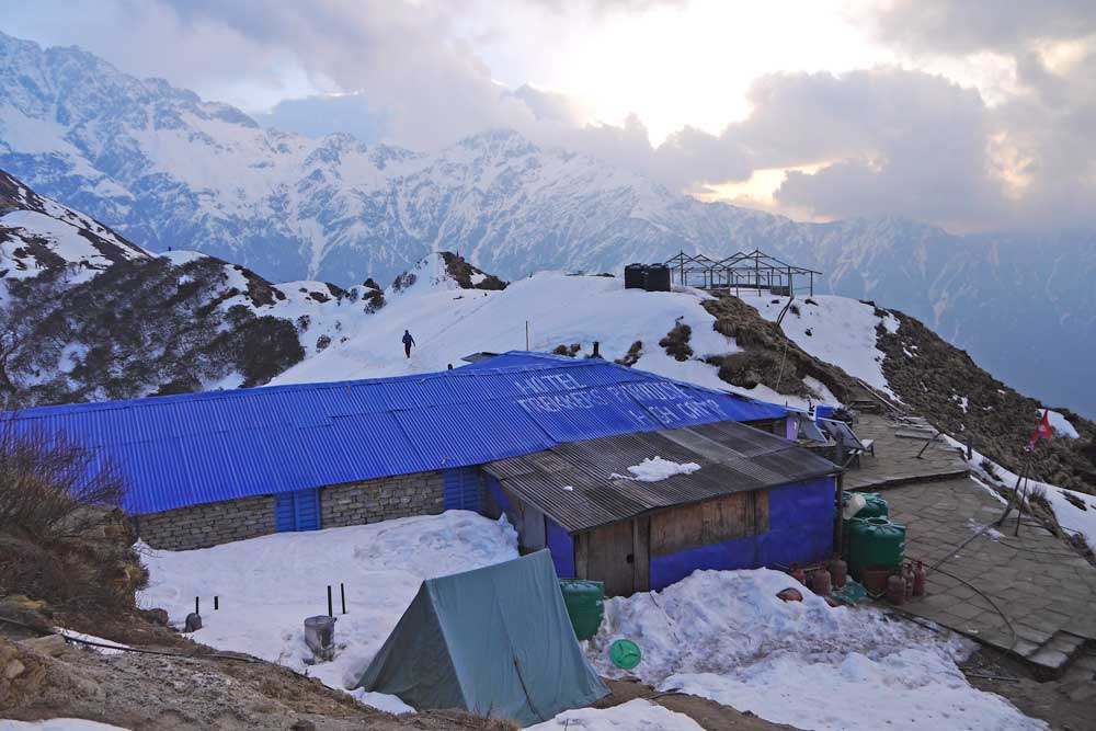 Our guesthouse at High Camp on the Mardi Himal trek