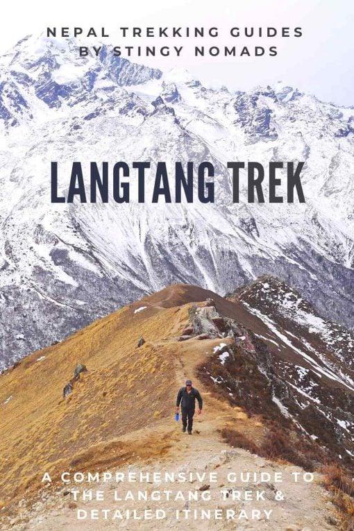 Langtang trek guide & itinerary pin