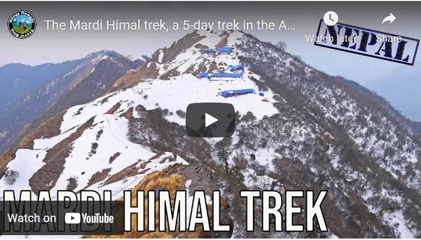 Mardi Himal trek YouTube video thumbnail