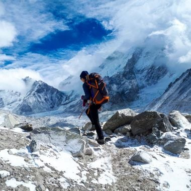 Everest Base Camp trek stingy nomads