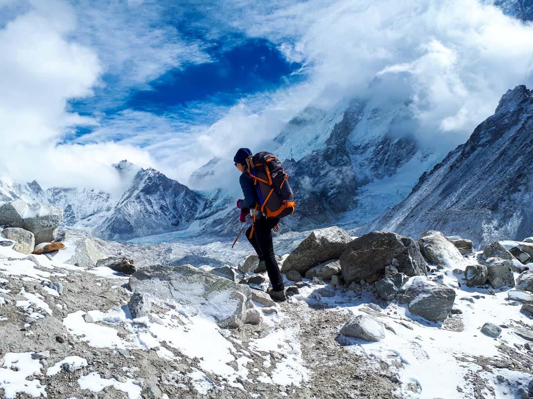 Everest Base Camp trek stingy nomads
