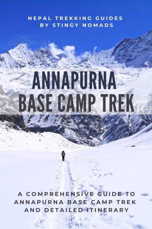 Annapurna Base Camp trek pin