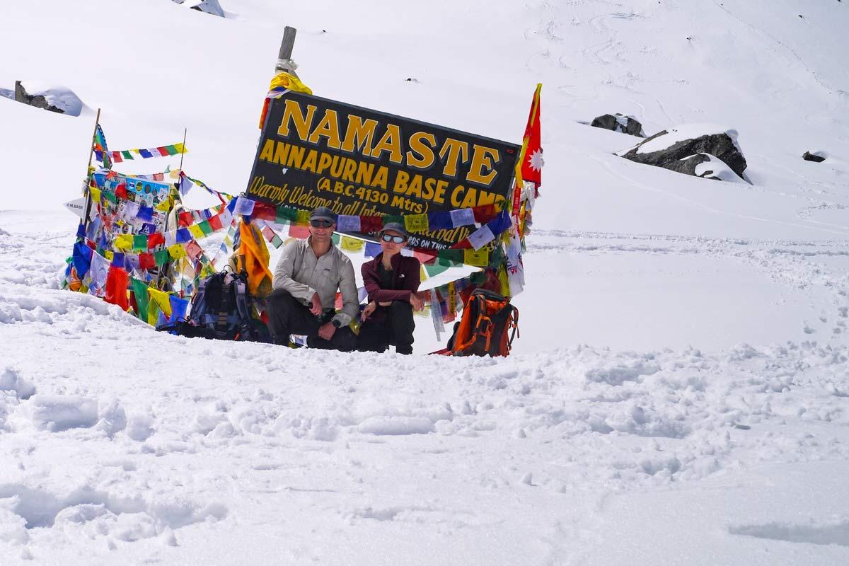 Stingy Nomads at Annapurna Base Camp