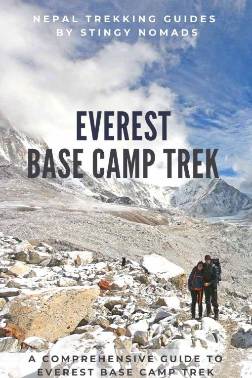 Everest Base Camp trek guide pin