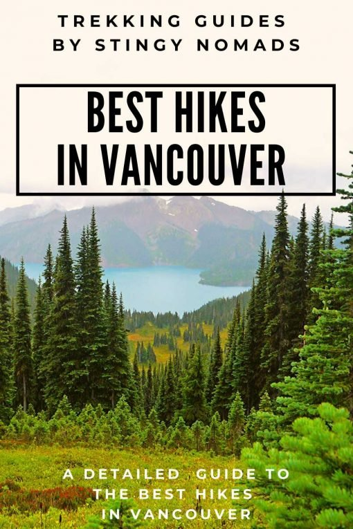 Best hikes in Vancouver pin
