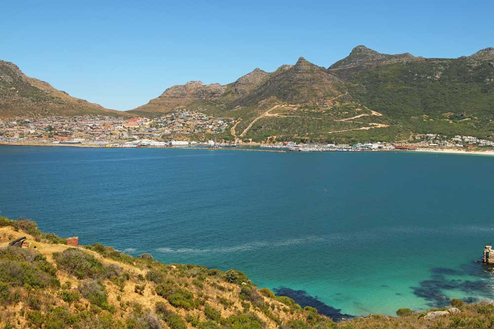 Hout Bay from Chapman's Peak Drive in Cape Town