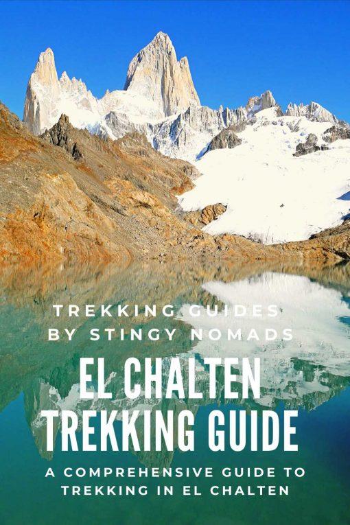El Chalten trekking guide pin