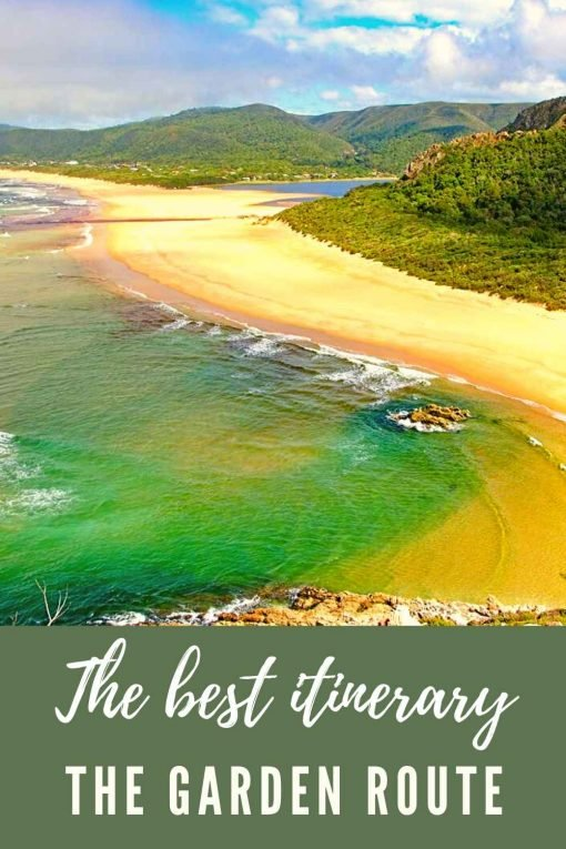 Garden Route itinerary pin