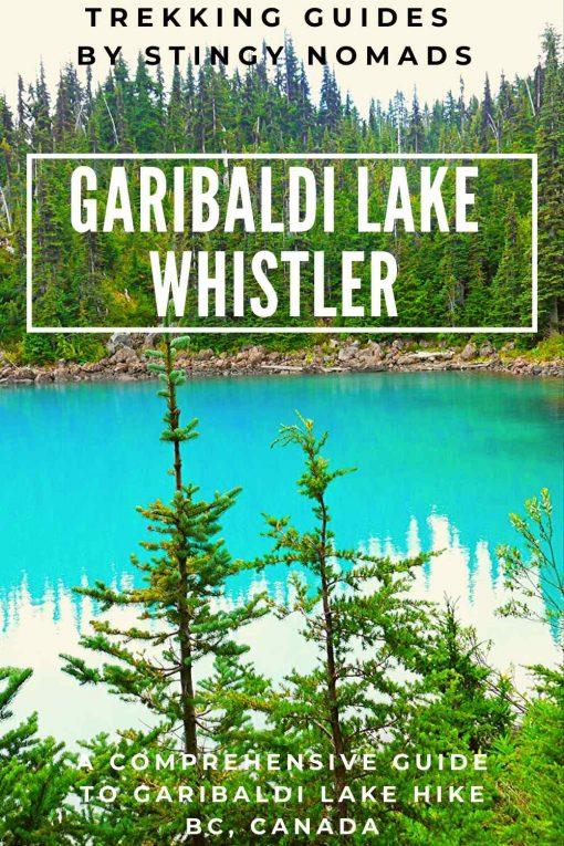 Garibaldi Lake hike pin