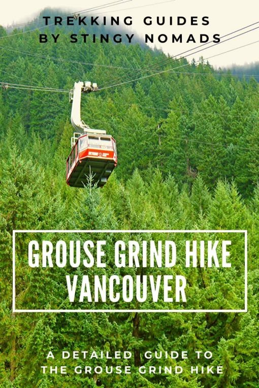 Grouse Grind hike Vancouver pin