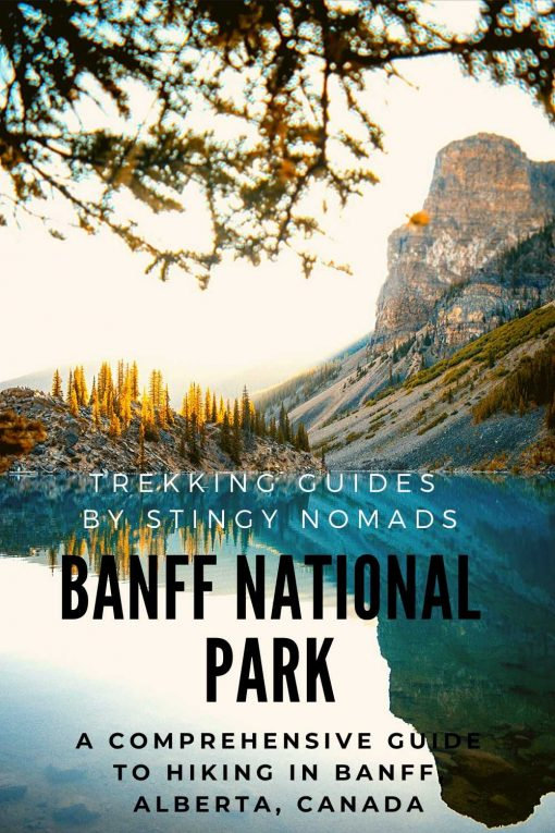 Hiking Banff National park pin