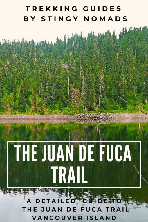 Juan de Fuca trail pin