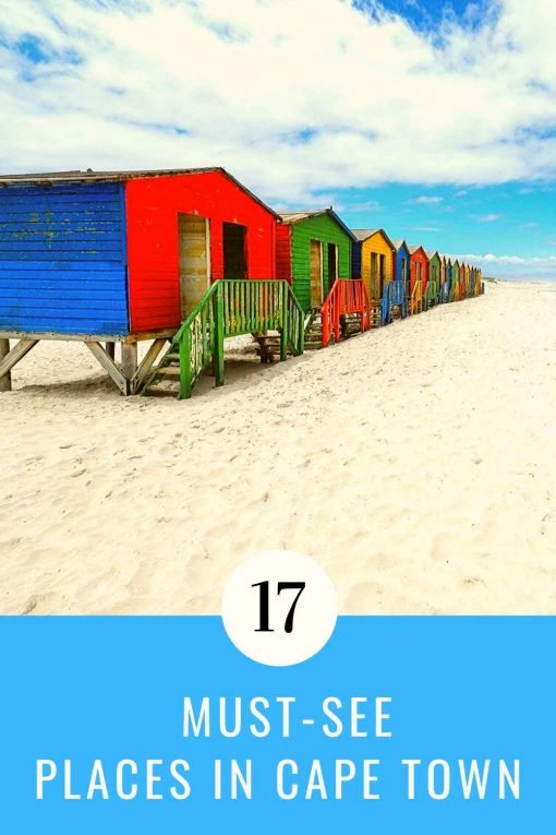 Places to visit in Cape Town pin