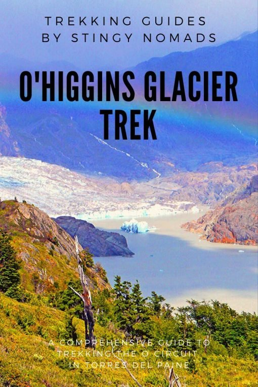 O'Higgins Glacier trek pin