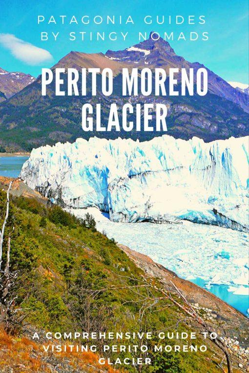 Perito Moreno glacier guide pin