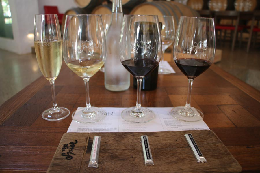 Wine and Chocolate pairing at Spier.