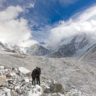 Stingy Nomads trekking in Nepal