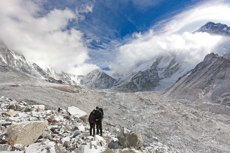 Stingy Nomads trekking in Nepal