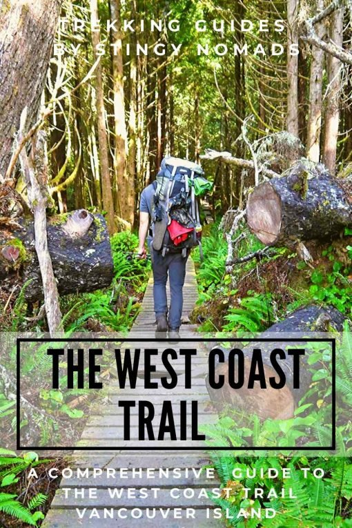 West Coast trail pin