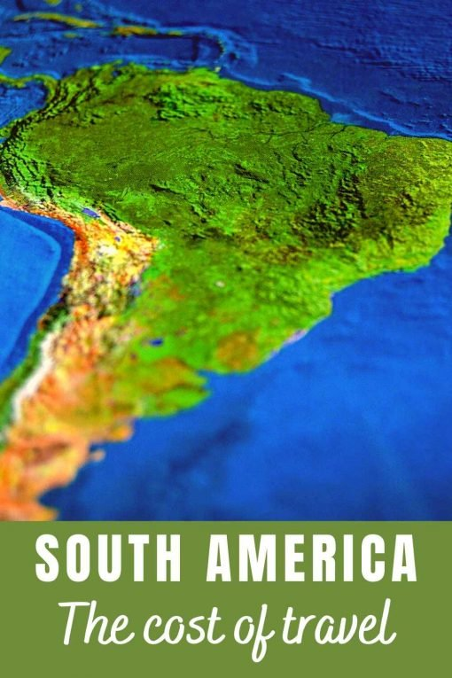 South America cost of travel