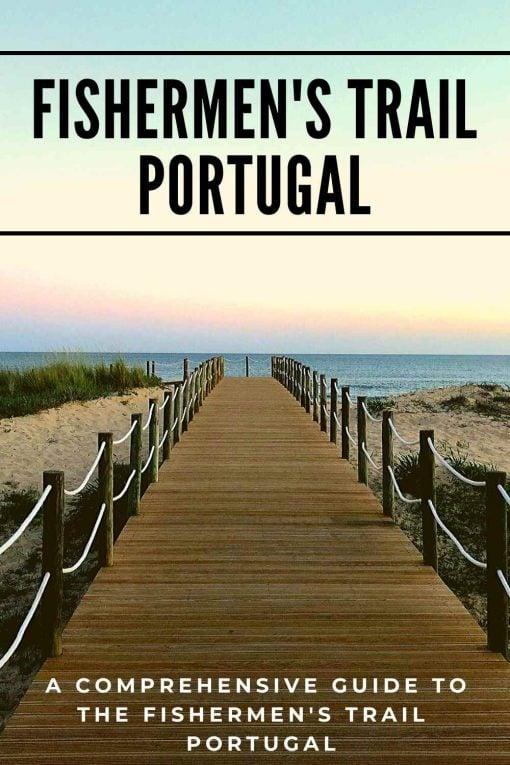 Fishermen's Trail Rota Vicentina Portugal pin