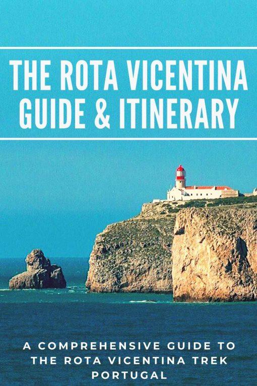 Rota Vicentina trail Portugal pin