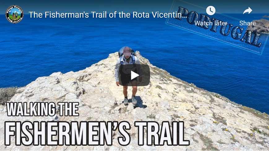 YouTube thumbnail of the Fishermen's Trail video