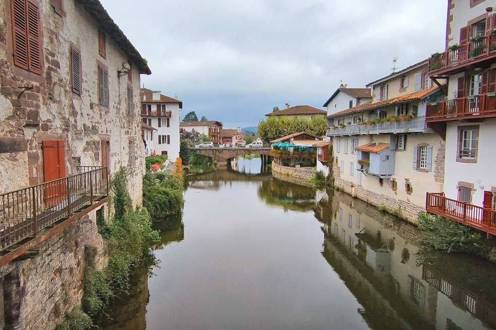 One of the main views of St.Jean Pied de Port, Camino de Santiago