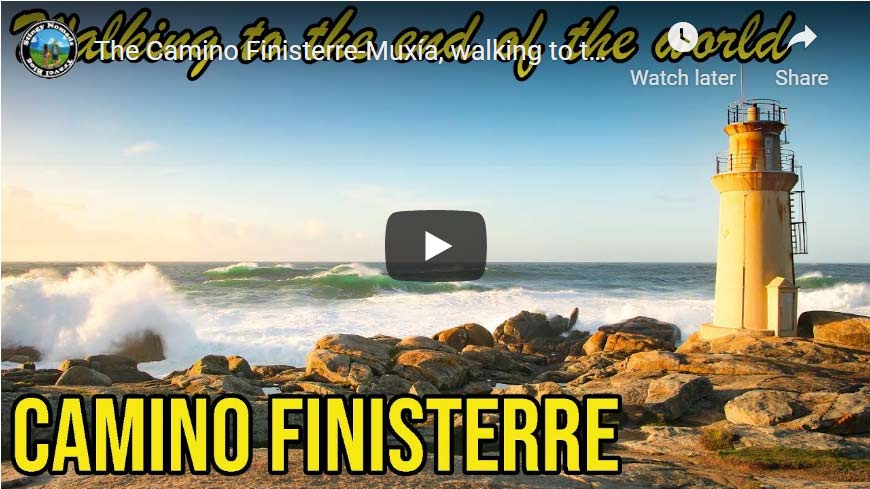 Camino Finisterre YouTube thumbnail