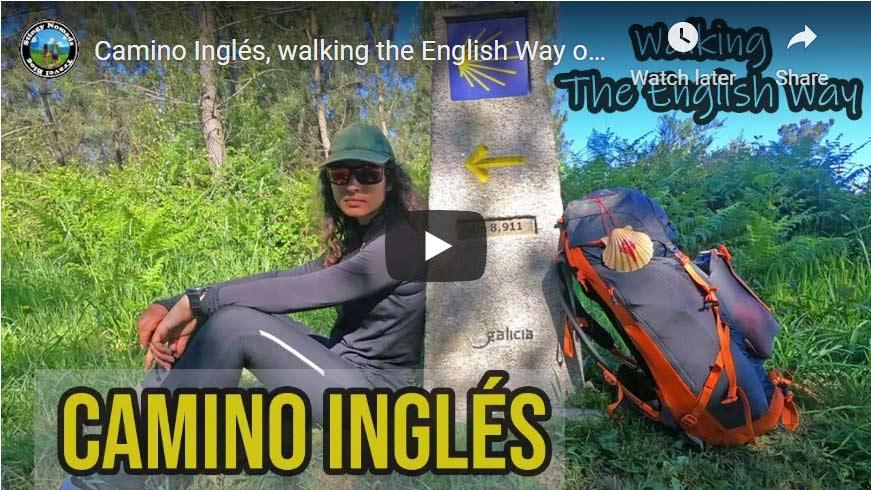 English Way Camino de Santiago video thumbnail