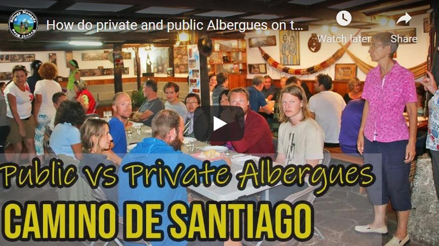 Video thumbnail for the albergues on the Camino de Santiago