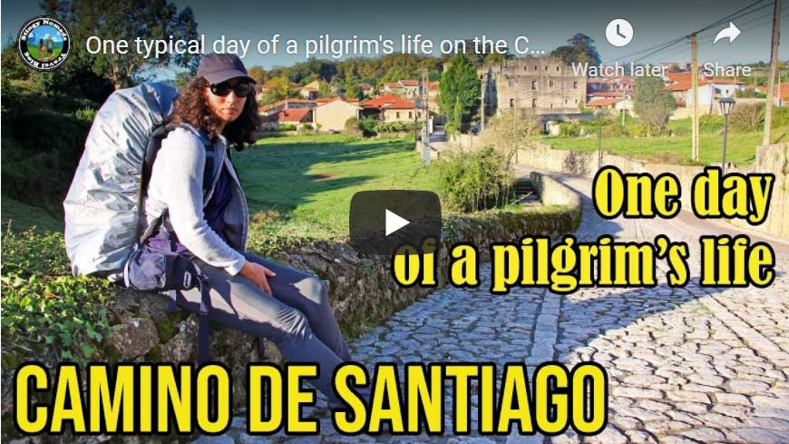 One day on the Camino YouTube video thumbnail