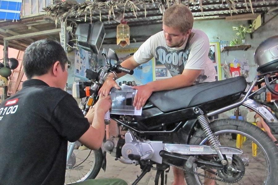 Buying motorbikes in Vietnam
