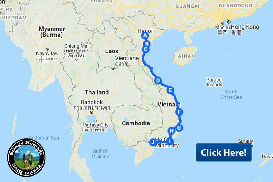 Vietnam motorbike trip map stingy nomads