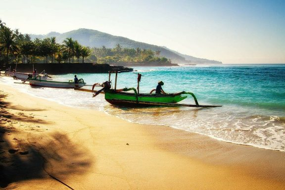 Bali diving with local boats